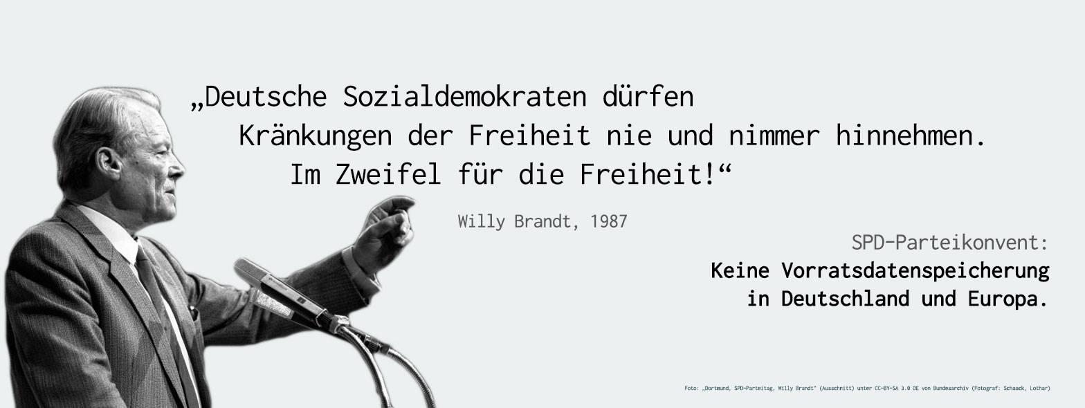Zitat Willy Brandt